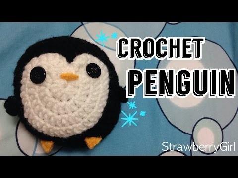 How to Make a Crochet Penguin