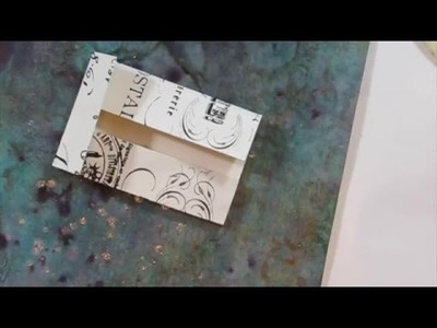 How To Make Gusseted Paper Pockets
