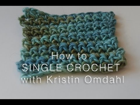 How to Single Crochet