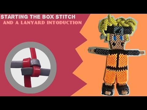 How to start the Box stitch & Introducing Lanyard ideas