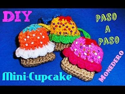 Mini-Cupcake!!!!  - Necklace Cupcake!! TEJIDO CROCHET