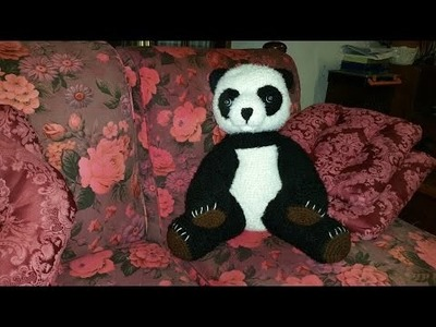 Panda all'uncinetto amigurumi - parte I - crochet panda