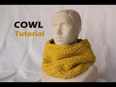 Quick & Easy Bulky Cowl Tutorial [Crochet]
