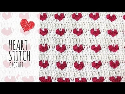 Tutorial Heart Stitch Crochet (Valentine's Day)