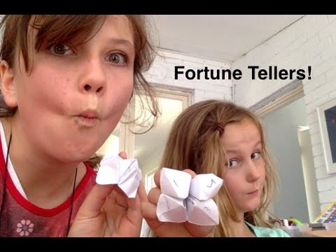 Art and how to make with the Robertson's ep 1: How to make a fortune teller
