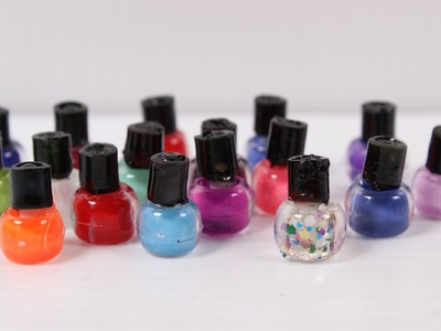 DIY Doll Nail Polish