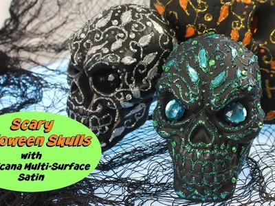 HOW TO: Decorate Halloween Skulls