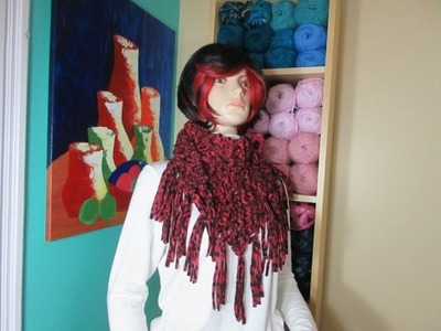 How to Knit a shawl or scarf. With Ruby Stedman
