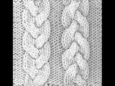 How to Loom Knit a 6 Stitch Cable Braid
