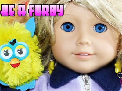 How to make a Furby for your Doll - Easy Doll Crafts