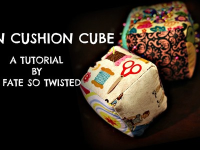 How To Make A Pin Cushion Cube