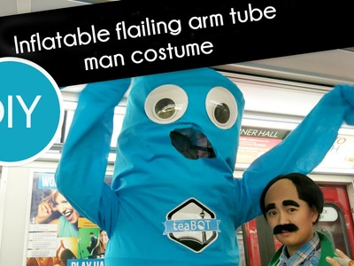 How to make a  Wacky Waving Inflatable Flailing arm tube man costume