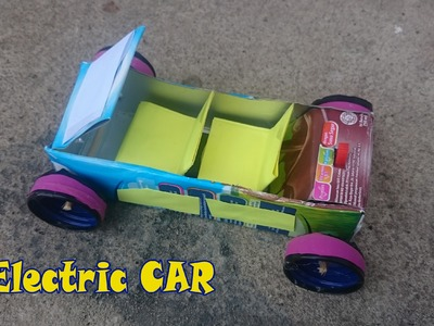How to Make an Electric Car using Motor - Homemade Electric Car Very Easy and Simple