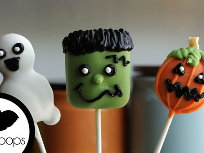 How to Make Halloween Cookie Pops   Become a Baking Rockstar