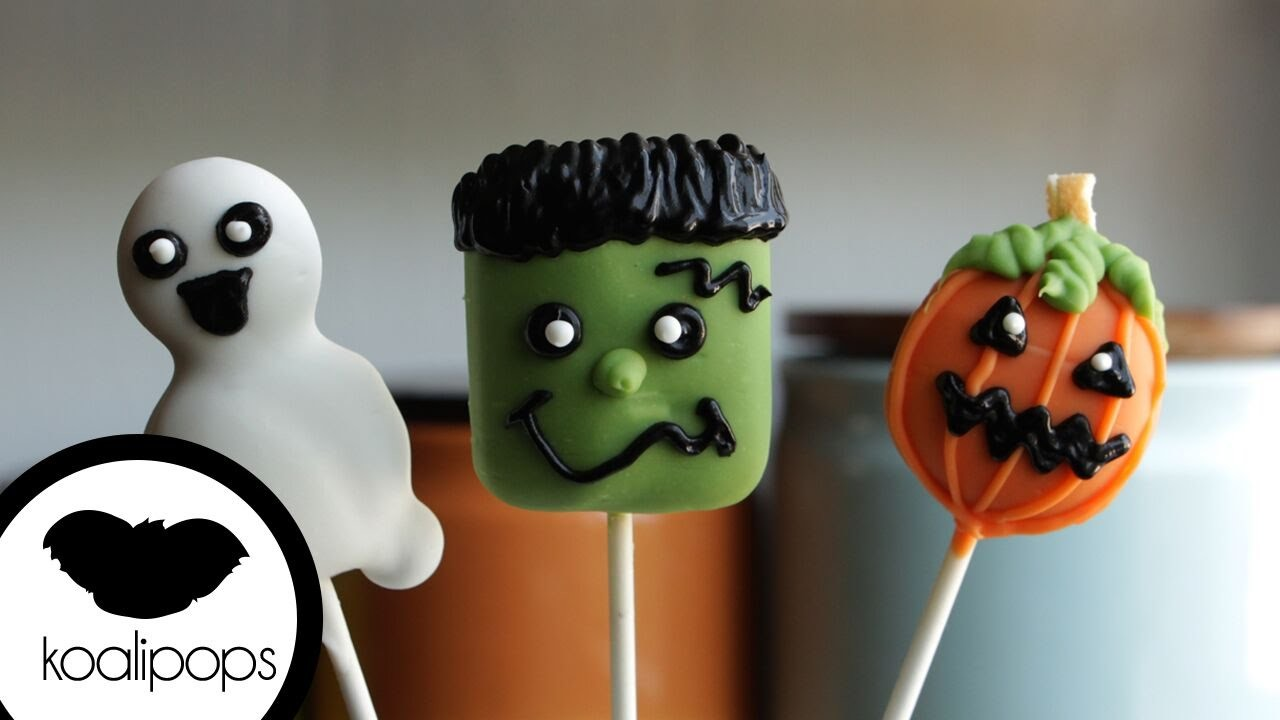 How to Make Halloween Cookie Pops | Become a Baking Rockstar