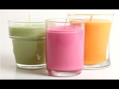 How to make soy candles at home - Homemade soy wax candle making