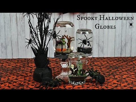 How to Make Spooky Halloween Globes