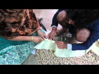 How to  Stitch Saree Falls Learn.Tutorial  part 2 hindi