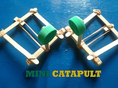 Mini Catapult - How to Make Mini Catapult Easily Using Popsicle Stick