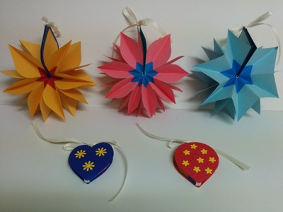 Art and Craft: How to make Magic mini diary. mini album. mini notebook. 3d paper flower