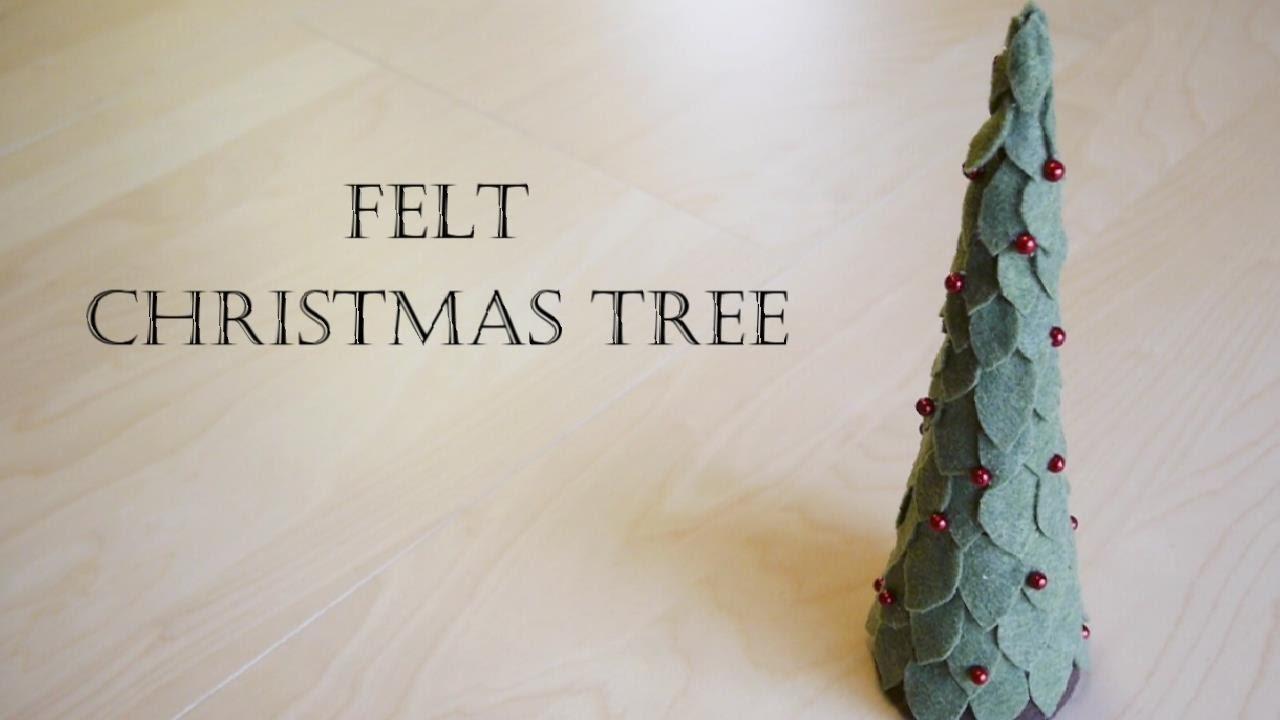 Christmas Decoration - How to Make Felt Christmas Tree