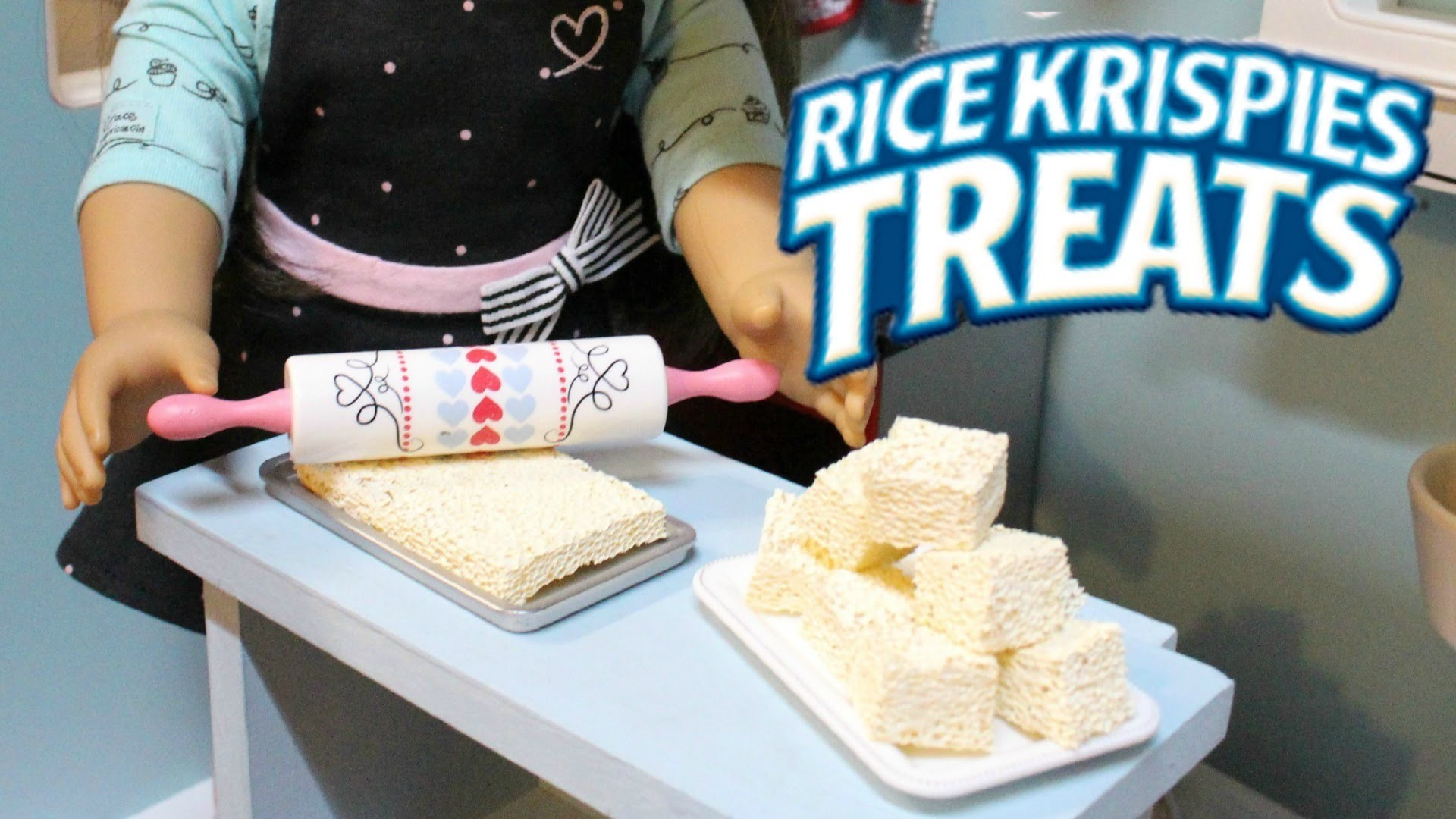 DIY American Girl Rice Krispies Treats
