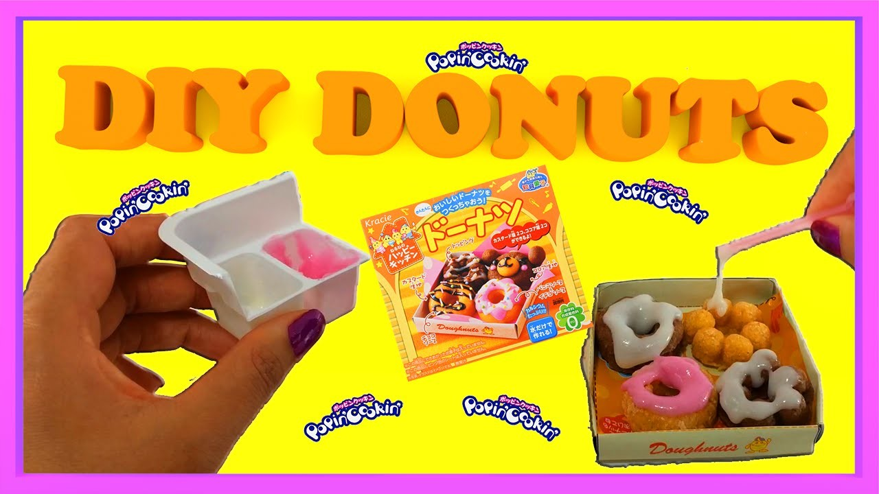 DIY Kracie Popin' Cookin' Donuts in English