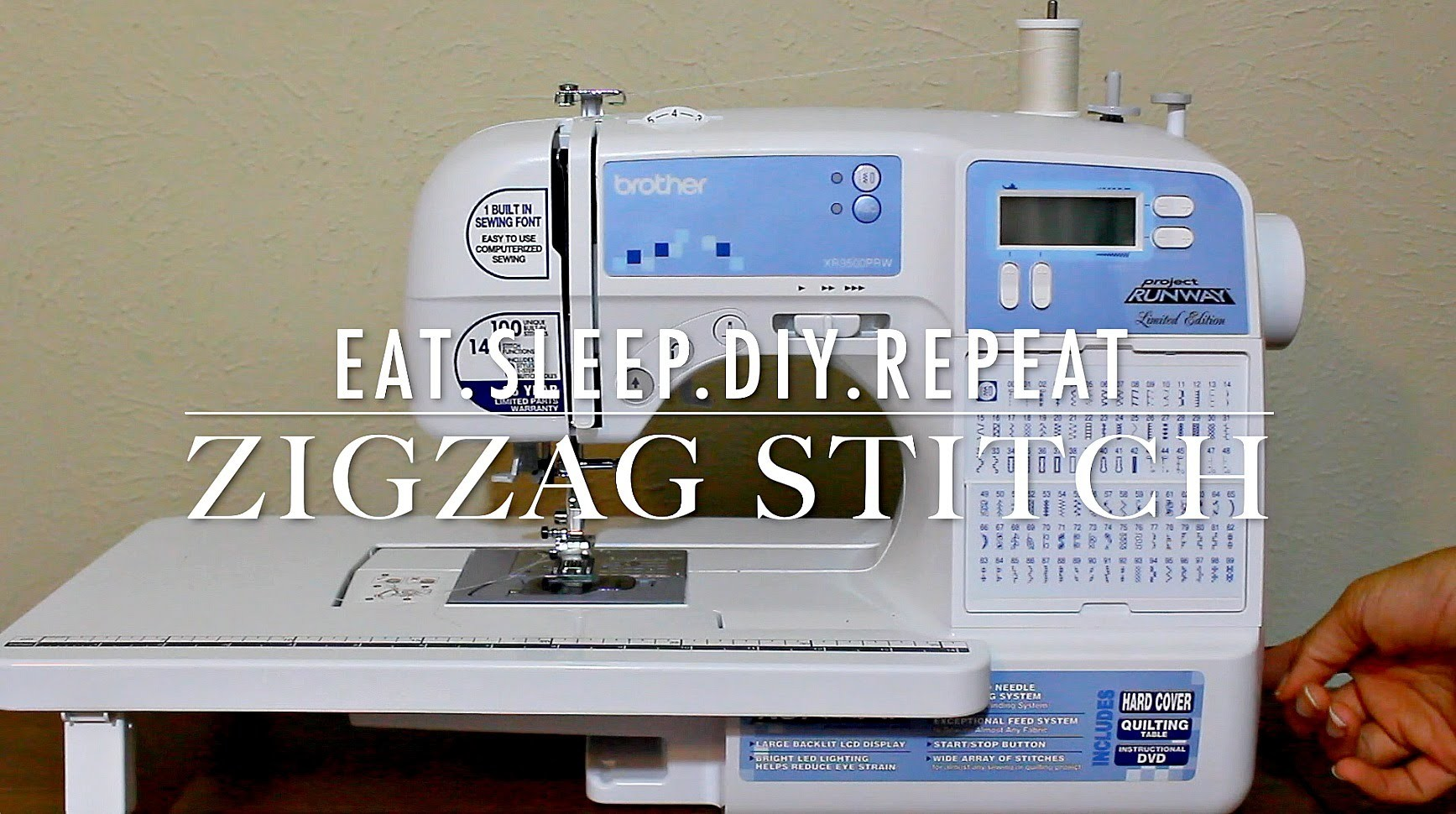 Finishing Seams | How to sew a ZigZag Stitch