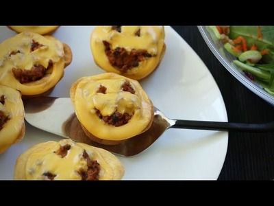 Halloween Recipes - How to Make Jack o Lantern Beef Pies