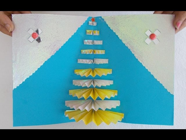 Handmade Greeting Card : How to Make an Easy Pop-up Greeting Card