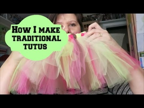 How I make the traditional tutu style ~Jan 14 2016 (day 245)