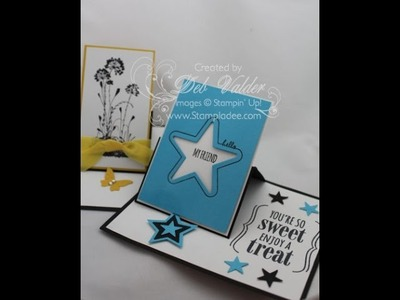 How to Create a Side Board Easel Card with Deb Valder