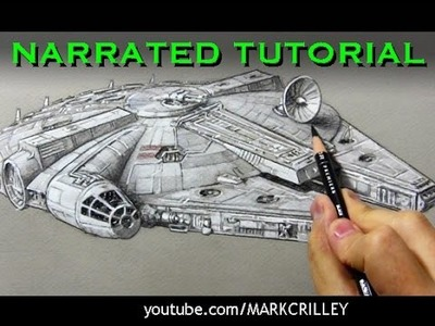 How to Draw the Millennium Falcon