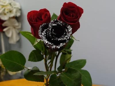 How to make a black rose?