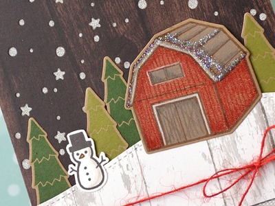 How to make a cute and rustic Christmas card