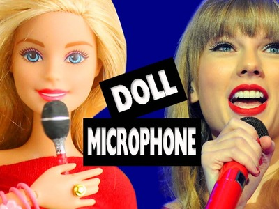 How to Make a Doll Microphone - Super Easy Doll Crafts