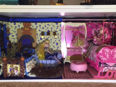 HOW TO MAKE A DORM ROOM FOR BLONDIE LOCKES AND CA CUPID [EVER AFTER HIGH]