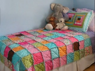 How to make a patchwork quilt by hand for beginners