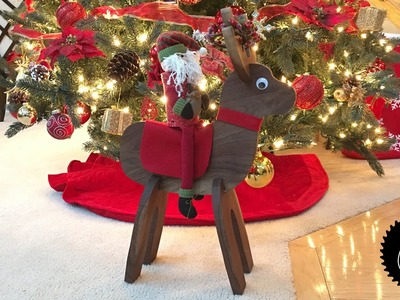 How to Make a Reindeer | Great Christmas Decoration!
