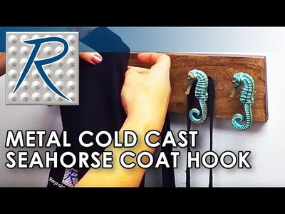 How To Make a Seahorse Coat Hook Using a Metal Cold Casting Technique