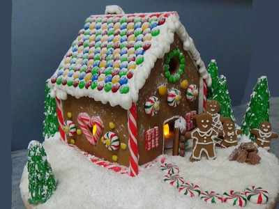 How to make easy gingerbread house from scratch