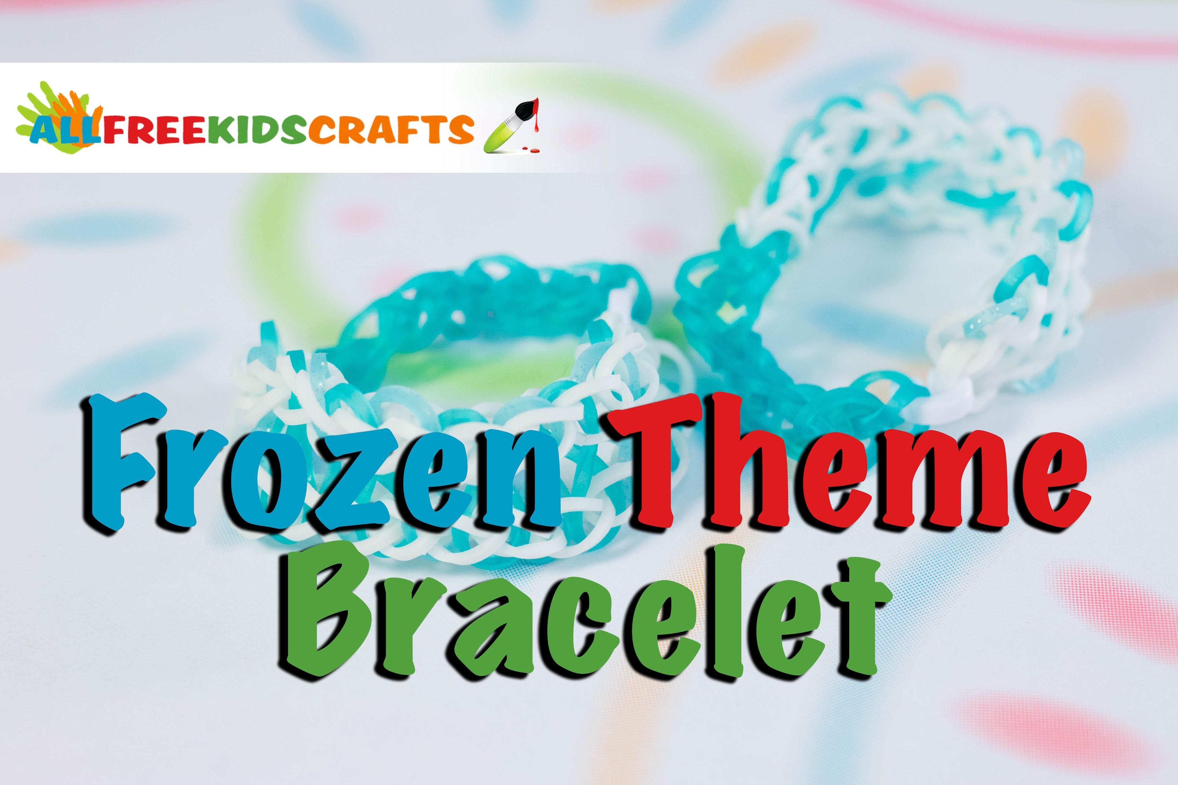 How To Make: Frozen Theme Bracelet