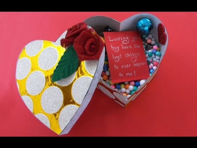 How to Make Heart Boxes | Personalized Gifts Idea for Her.Him | Chocolate Box
