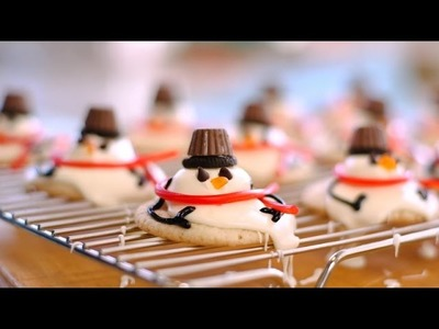 How To Make Melted Snowmen Cookies