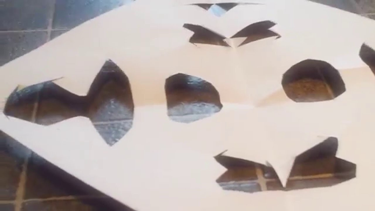 How to make paper snowflakes ❄