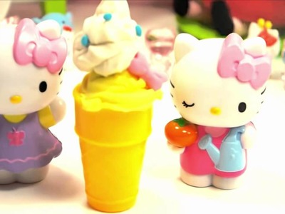 How to make play doh Ice Cream Shop Play doh peppa pig - part 6