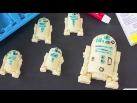 How to Make R2-D2 Chocolates