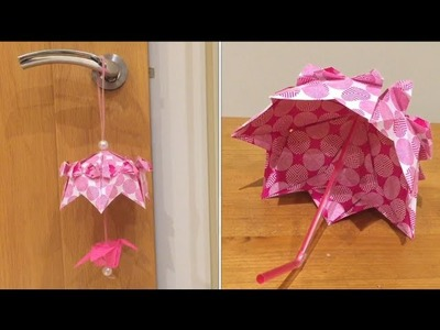 How to | Origami Umbrella (intermediate)