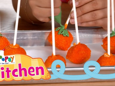 Lalaloopsy Kitchen: How to Make Pumpkin Cake Pops | Episode 10 | Lalaloopsy