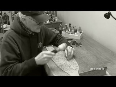 Leather Stamping Tutorial How to Pear Shade Oak Leaves with Craftool P212